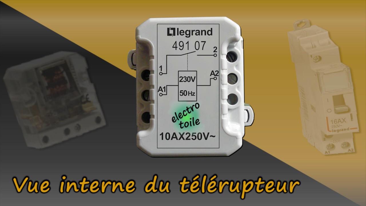 Constitution D Un Telerupteur Legrand 491 07 Youtube