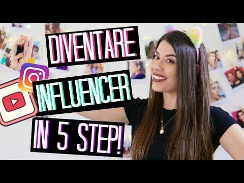 COME DIVENTARE INFLUENCER / YOUTUBER IN 5 STEP! + DIY ROOM DECOR