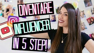 COME DIVENTARE YOUTUBER / INFLUENCER IN 5 STEP! | Adriana Spink