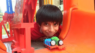 Thomas and Friends Accidents Will Happen Playtime Toy Trains Stunts at the Park