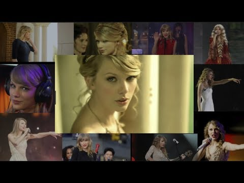 "Taylor Swift - ""Love Story"" Evolution 2008-2018"
