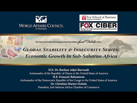 Global Stability and Insecurity Series: Economic Growth in Sub-Saharan Africa