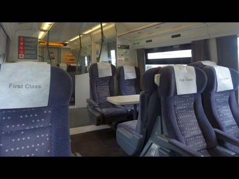 First Class Train Ride London - Cambridge, Abellio Greater Anglia