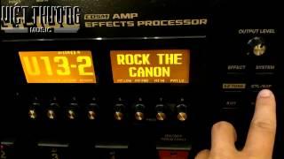 [part 5 BOSS GT100] Giới thiệu, hướng dẫn chức năng Amp control