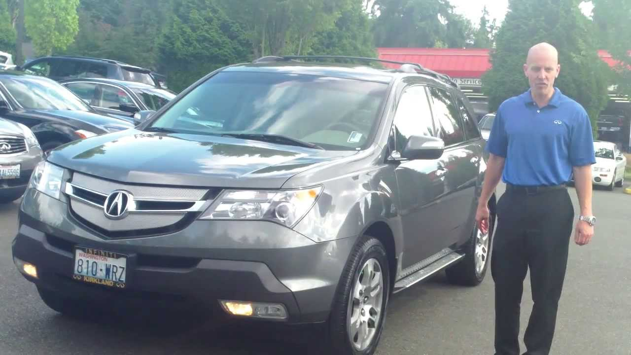 Acura Mdx Gas Mileage >> 2007 Acura Mdx Awd Review Buying An Mdx With Higher Miles