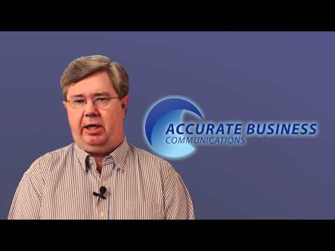 Chandler Turner on Accurate Business Communications