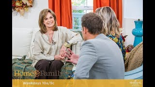 Linda Gray on Hallmark's Home & Family