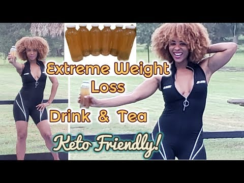 extreme-weight-loss-energy-drink-&-tea:-homemade-appetite-suppressant,-keto-friendly!-cleanse-pt1