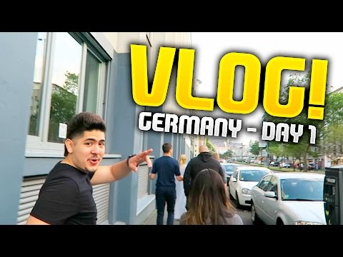 LA5TY'S TRIP TO GERMANY FOR GAMESCOM! VLOG #1