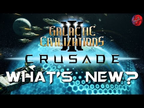 Galactic Civilizations 3 CRUSADE - Feature Look and Let's Play - Economy/Citizens/New Empires etc.