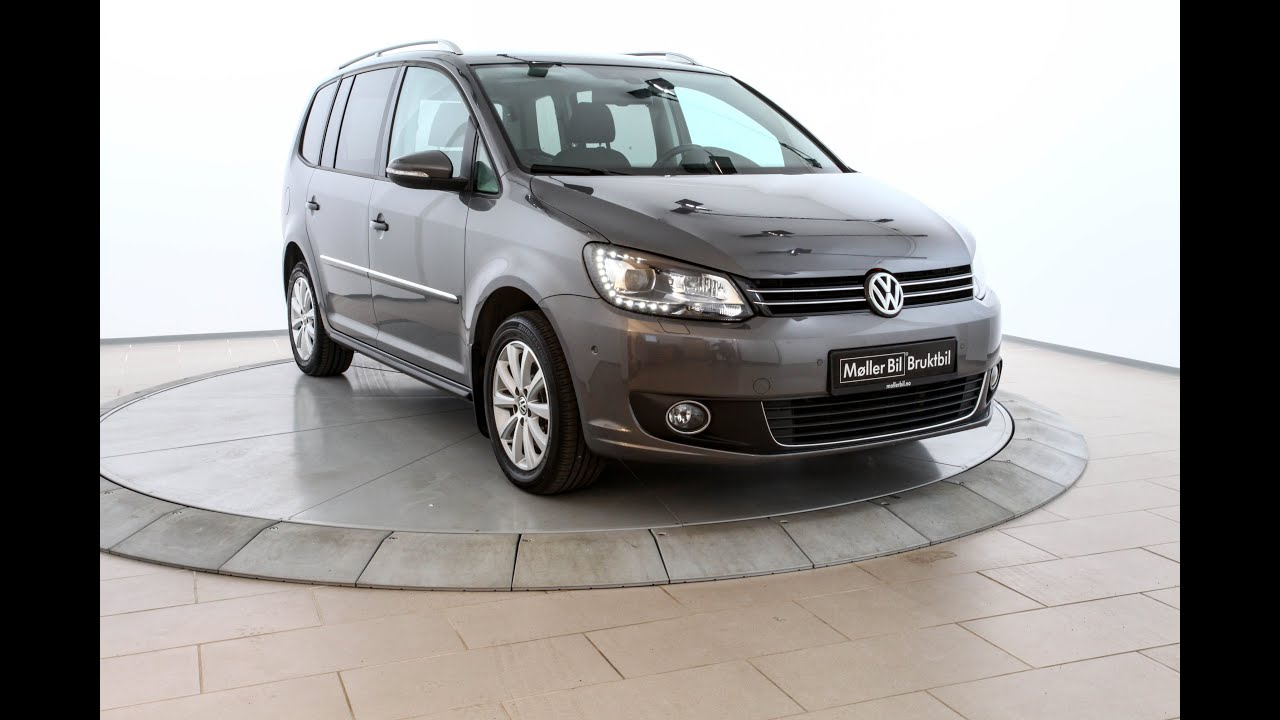 volkswagen touran 2 0 140 tdi dsg highline 7 s 2012 youtube. Black Bedroom Furniture Sets. Home Design Ideas