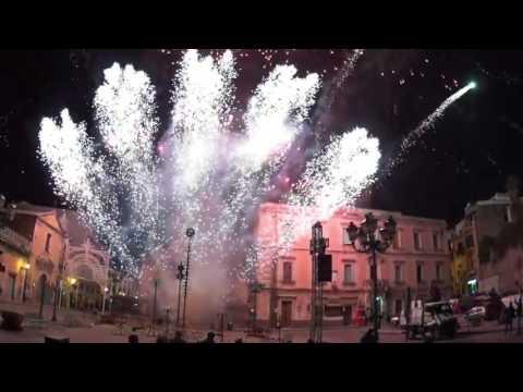 Fuochi piro musicali  Sant'Alfio a Lentini coro Ad DEi Laudem