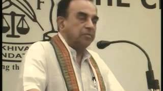 Part 7/14 - Subramanian Swamy Speech at Mcci on about Indian Economy