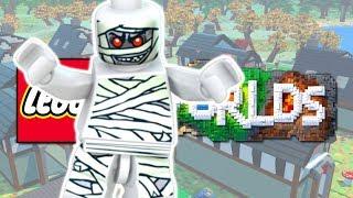 LEGO Worlds - ПОКРАСИТЬ ВСЕ СТЕНЫ