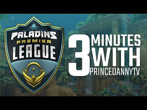 Paladins Premier League - 3 Minutes with a Pro - SK Gaming PrinceDannyTV