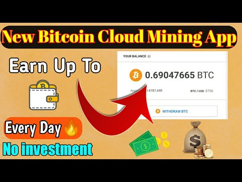Earn $10 Daily Free | Bitcoin Cloud Mining App- No Investment 🔥