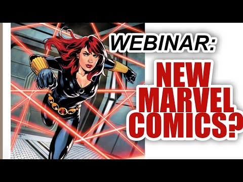 [FREE WEBINAR] Marvel Comics Coming in April 2020