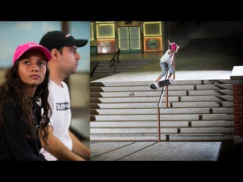 Brazil's RAYSSA LEAL: An 11-Year-Old Skateboard Prodigy