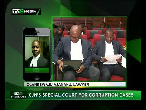 TVC Breakfast September 25th | CJN's special court for corru