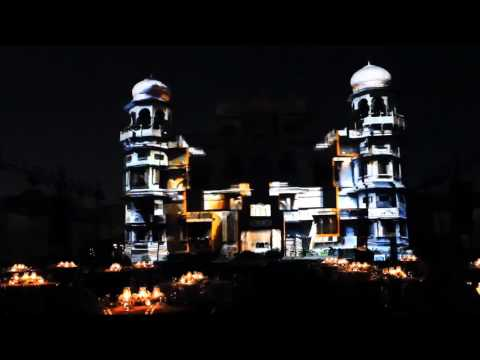 Enekon Projection Mapping | Mohatta Palace