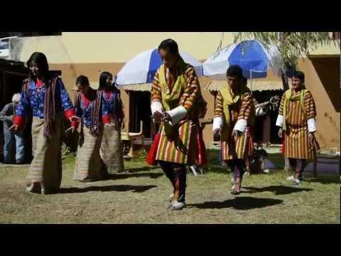 Traditional dance in Bhutan 1