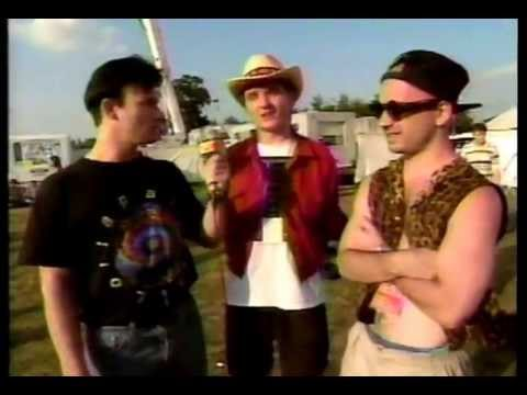 Nitzer Ebb at the Reading Festival on 120 Minutes (1991)