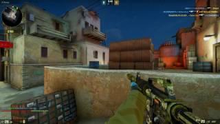 CS:GO [No-Steam] Warzone Gameplay - ALL GLOVES FREE!