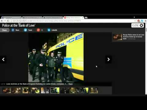 Unity peace patrol news EMERGENCY LATE NIGHT AND UPDATED BROADCAST LIVERPOOL BANK OF LOVE