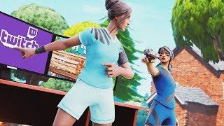I spent a DAY Challenging Twitch Streamers in Fortnite