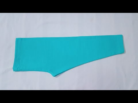 Baby Capri Pant Cutting And Stitching | Baby Pajama Pant