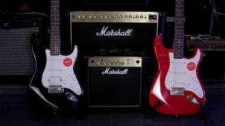 Single VS Humbucker - HSS VS SSS Fender Squier Bullet Stratocaster