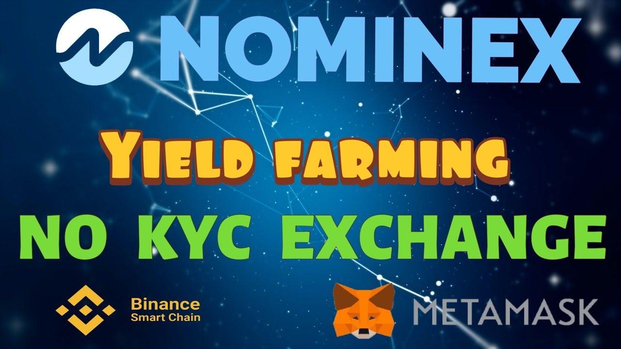 NOMINEX 👨🌾 Best Yield Farming on Binance? NO KYC EXCHANGE - DeFi NMX Staking