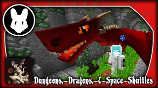 Modded Minecraft: Dungeons, Dragons, & Space Shuttles! Day 12 (Twitch Stream)