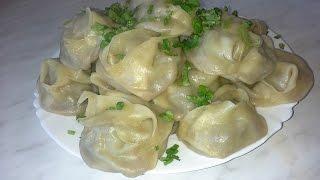 Узбекские манты домашнего приготовления!!!(Всем привет! Сегодня готовим манты из говядины. Прошу не судить строго,т.к. это один из первых моих видеороли..., 2015-03-15T12:16:02.000Z)