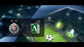 PES 2015 Uefa Champions League Playoff Round 2nd Leg FC PARTIZAN VS PFC LUDOGORETS