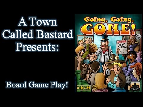 Going, Going, Gone! - Board Game Play