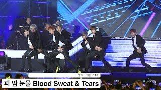 방탄소년단[4K 직캠]피 땀 눈물 Blood Sweat & Tears@20161018 Rock Music Resimi