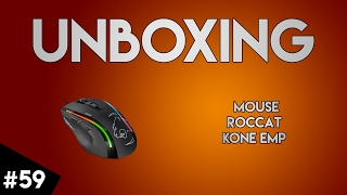 [UNBOXING #59] Mouse-ul ROCCAT KONE EMP (retarded mod ON)
