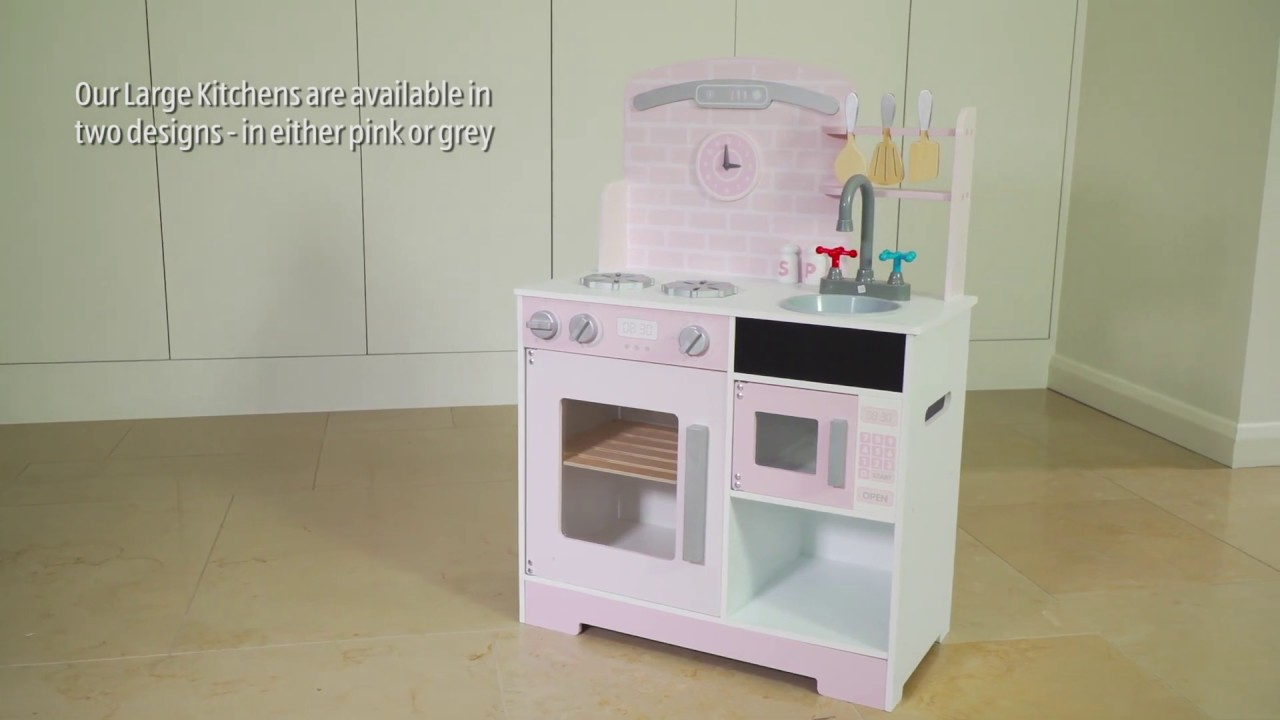 19972 Large Wooden Toy Kitchen