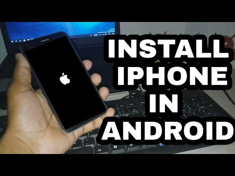 Install iPhone System On Any Android || install iOS 11 On Android 2018