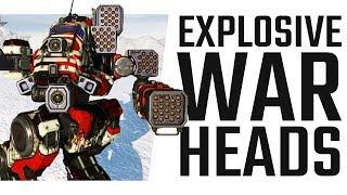 Lots of explosive warheads! MRM Bushwacker! - Mechwarrior Online The Daily Dose #738