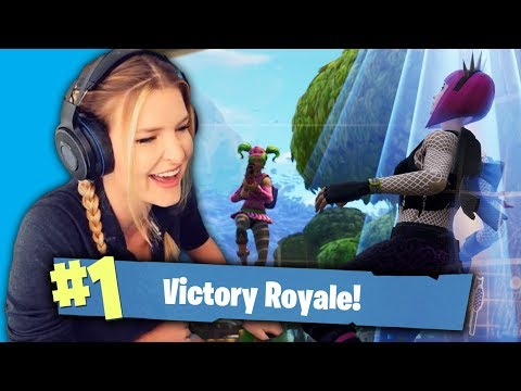 PLAYING WITH THE MOST ADORABLE 11 YEAR OLD KID! (Fortnite Battle Royale Gameplay)   KittyPlays