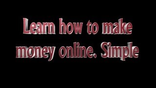 Trusting Source-  The secrets of making money fast with Internet Marketing