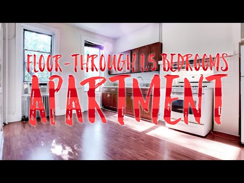 Floor-Through 1.5 Bedrooms Apartment in Central Park Slope! Video Tour NYC Brooklyn