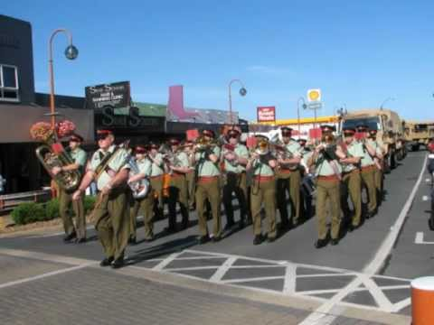 New Zealand Artillery Band - Invercargill March