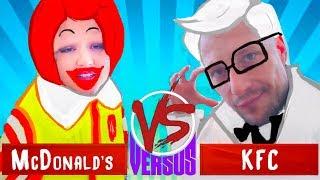 МАКДОНАЛЬДС vs. КФС у кого НОВОЕ МЕНЮ КРУЧЕ?! | Mc'Donalds vs. KFC(, 2018-02-23T07:00:03.000Z)