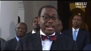 President of the African Development Bank Dr. Akinwumi Adesina in Tanzania