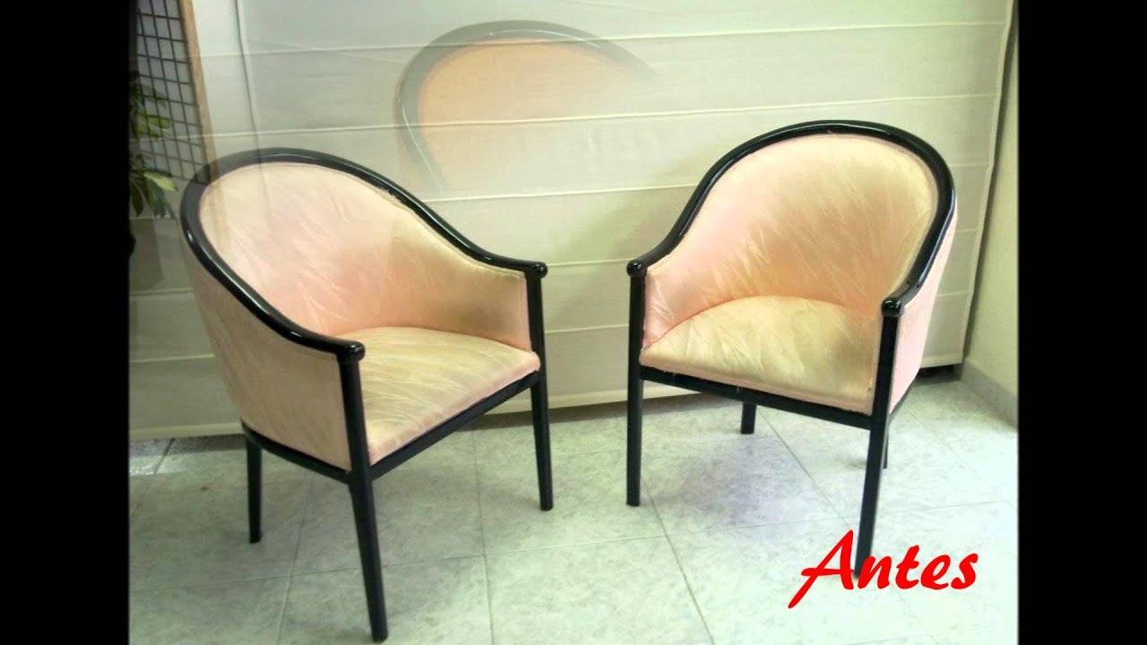 Tapizar sillas youtube - Presupuesto tapizar sofa ...