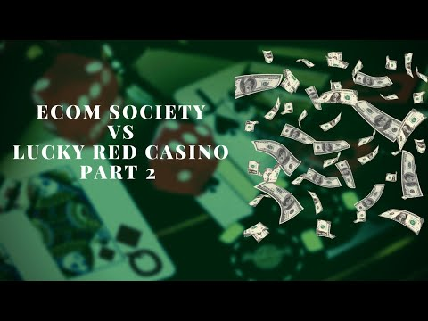 Ecom Society Vs Lucky Red Casino Part 2 European Roulette Winning Strategy Easy $$$