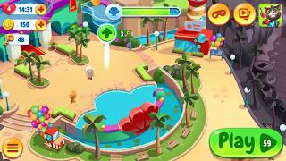 Talking Tom Pool Android Gameplay Level Complete 55-59 | Kids Game Talking Tom Pool